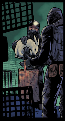 Sneak peek:  Panel from LIBERATOR issue 2
