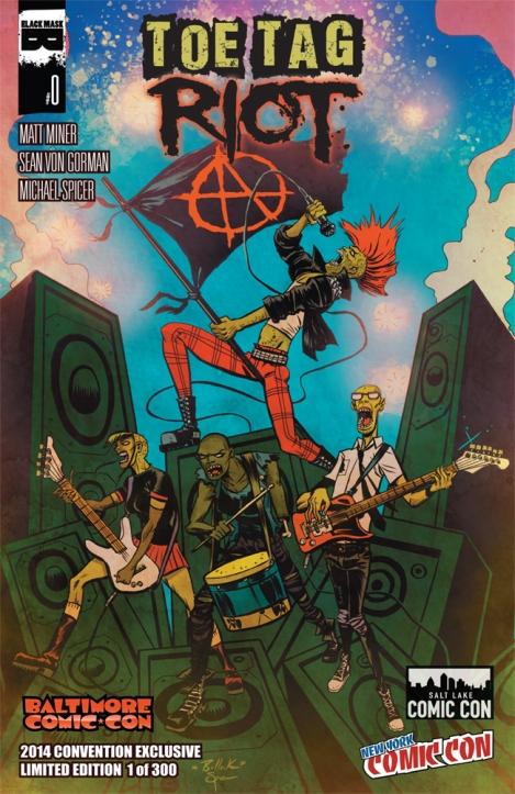 Toe Tag Riot 0 - cover