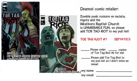 Print and bring to your comic store!